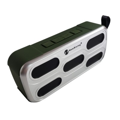 NewRixing Outdoor Bluetooth Speaker NR-3018 - Green