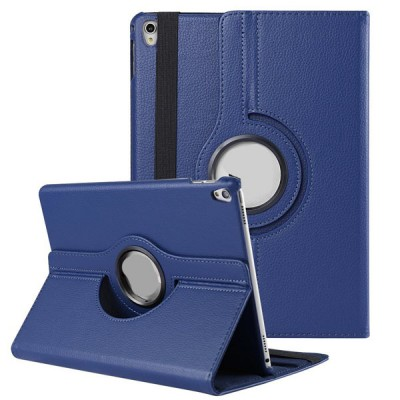 Rotating Leather Case for iPad Pro 10.5 2nd Generation - Blue