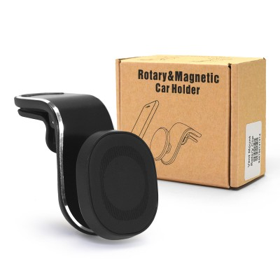 Universal Rotary & Magnetic Vent Clip Holder