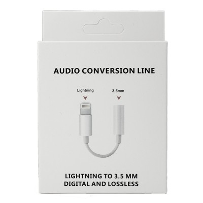 Lightning to 3.5mm Audio Conversion Line