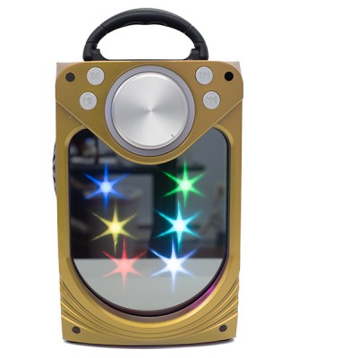 Inova Portable Bluetooth Speaker - RAD1061 - Gold