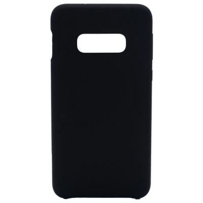 Soft Silicone Case for Samsung Galaxy S10E - Black