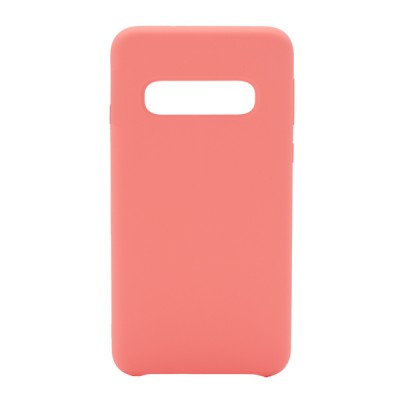 Soft Silicone Case for Samsung Galaxy S10 - Pink