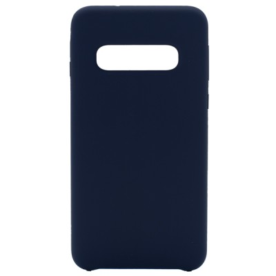 Soft Silicone Case for Samsung Galaxy S10 - Blue