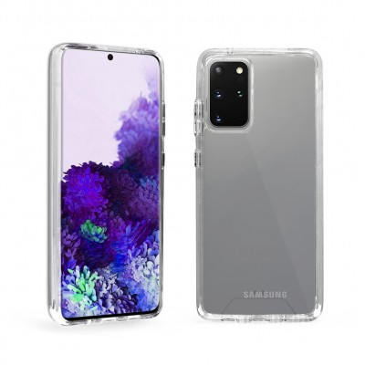 Deluxe Crystal Clear Case for Galaxy S20