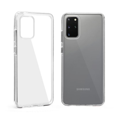 Design Edge Clear TPU for Galaxy S20 - White