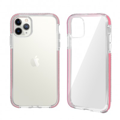 Design Edge Clear TPU for Iphone 11 Pro Max-Pink