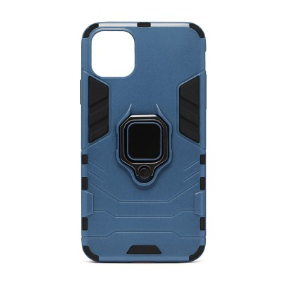 Fashion Design Ring Stand - iPhone 11 - Blue