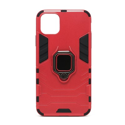 Fashion Design Ring Stand - iPhone 11 - Red