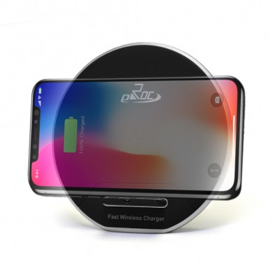 QI Wireless Technology Fast Charger - Black