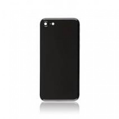 BACK COVER GLASS FOR IPHONE 8 (BLACK)