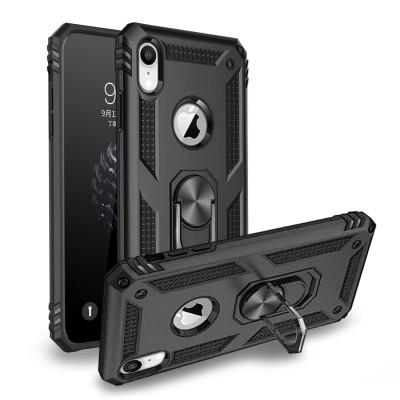 Heavy Duty Design Ring Stand for Iphone XR -Black