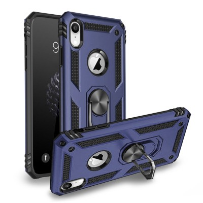 Heavy Duty Design Ring Stand for Iphone XR -Navy