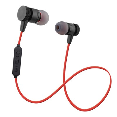 Woozik M900 BT Magnetic Stereo Earbuds - Red