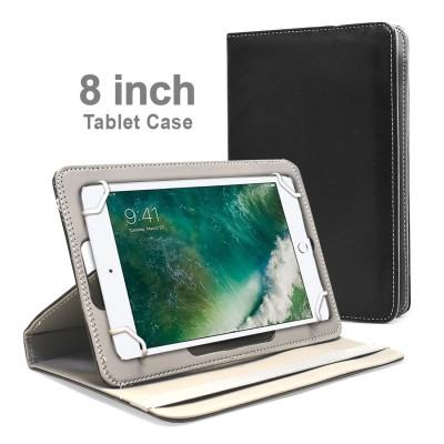 Universal HQ Leather Case for Tablet - 8 inch