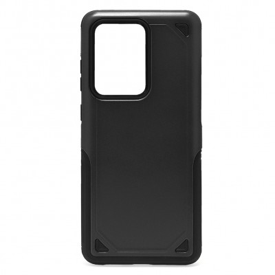 Hybrid Armor Rugged ShockProof for Galaxy S20 Ultra - Black