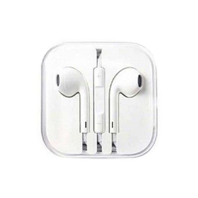 iPhone 3.5MM Headset /w MIC & Vol Control - White