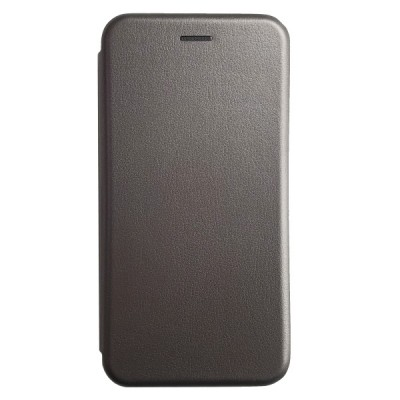 iPhone 6/6S Plus Deluxe Magnet Closure Flip Credit Card hold Case - Gray