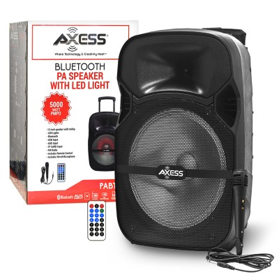 "Axess BT Speaker PABT6007 LED 12""  5000 Watt"