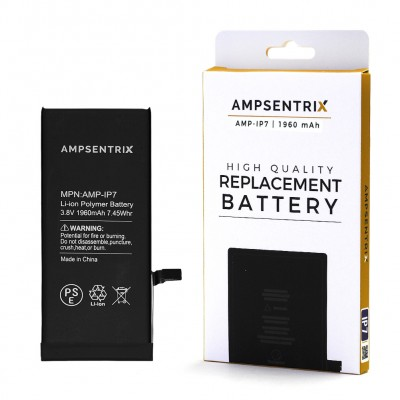 Ampsentrix Premium Quality Iphone 7 Battery