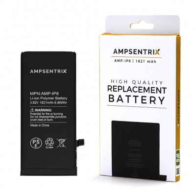 Ampsentrix Premium Quality Iphone 8 Battery