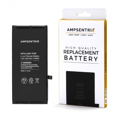 Ampsentrix Premium Quality Iphone 8 Plus Battery