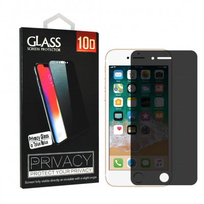 Privacy Tempered Glass for Iphone 7 plus / 8 plus