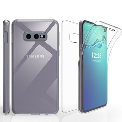 Beyond Cell Tri Max 360° Full Cover Case for Samsung Galaxy S10E- Clear