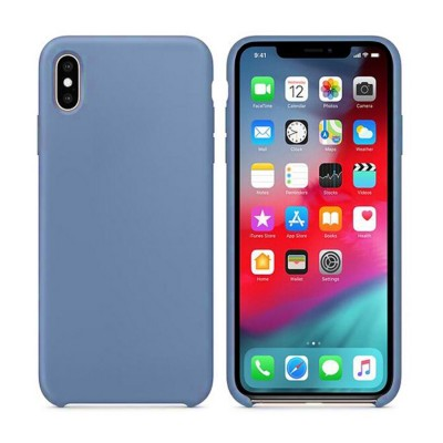 Silicone Case for Iphone XR - Blue