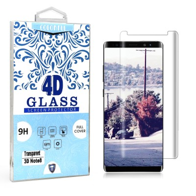Edged Tempered Glass Screen Protector Note 8
