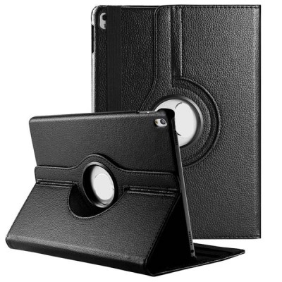 Rotating Leather Case for iPad Pro 10.5 2nd Generation - Black