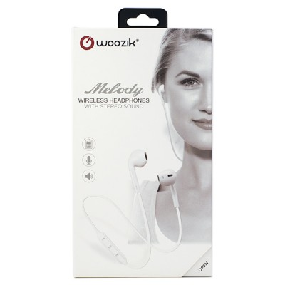 Woozik Melody BT Stereo Earbuds - White