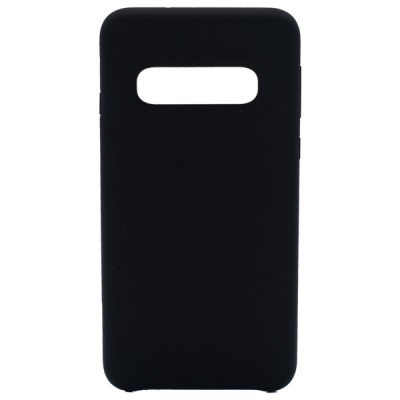 Soft Silicone Case for Samsung Galaxy S10 - Black
