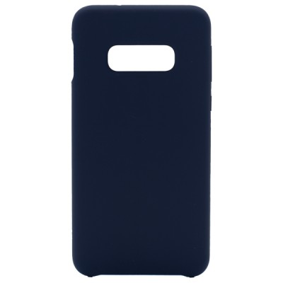 Soft Silicone Case for Samsung Galaxy S10E - Blue