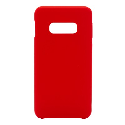 Soft Silicone Case for Samsung Galaxy S10E - Red