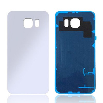 BACK COVER FOR SAMSUNG GALAXY S6 (WHITE)