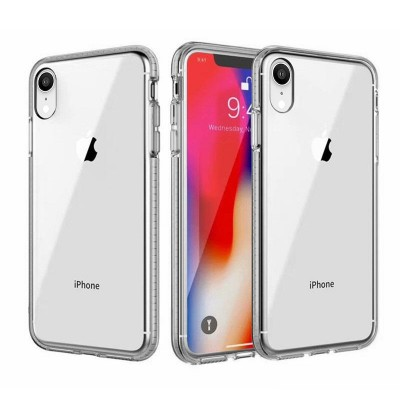 Design Edge Clear TPU for Iphone XR -White