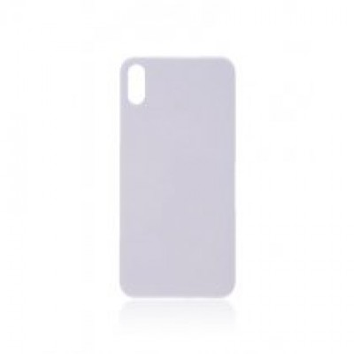 BACK COVER GLASS FOR IPHONE X (WHITE)