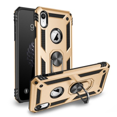 Heavy Duty Design Ring Stand for Iphone XR -Gold