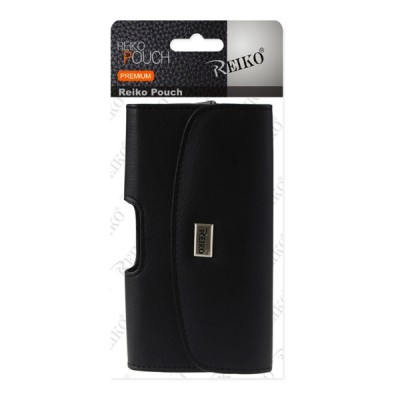 Reiko Horizon Leather Pouch For iPhone 6/7/8 Plus, Galaxy Note 8, Galaxy S8/9 Plus
