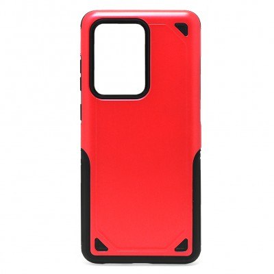 Hybrid Armor Rugged ShockProof for Galaxy S20 Ultra - Red