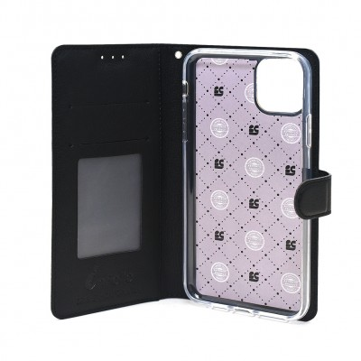 "Beyond Cell ""Infolio"" ID Wallet Case For Iphone 11 - Black"