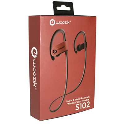 Woozik S102 Wireless Sport Headset - Red