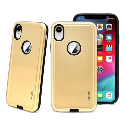 Motomo Slim Armor Case - Iphone XR - Gold