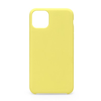 Silicone Case for Iphone 11 Pro Max-Yellow