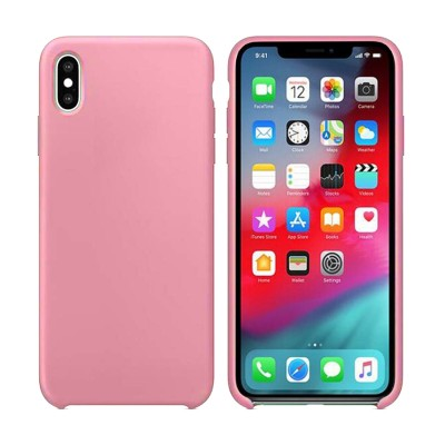 Silicone Case for Iphone XR - Pink