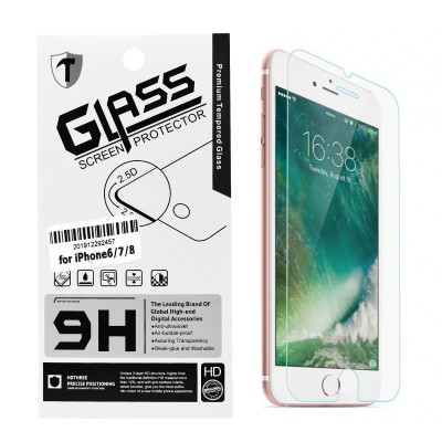 Clear Tempered Glass for iPhone 6/7/8