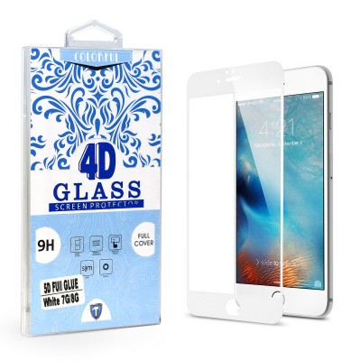 Full Edge Temper Glass White - Iphone 7/8