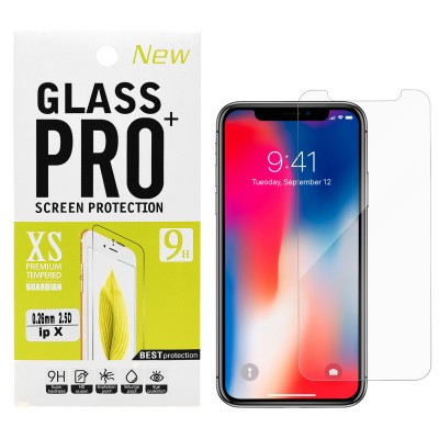 Clear Tempered Glass for iPhone X/XS/11 PRO