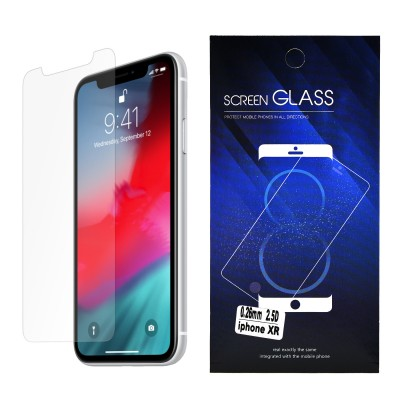 Clear Tempered Glass for iPhone XR/11